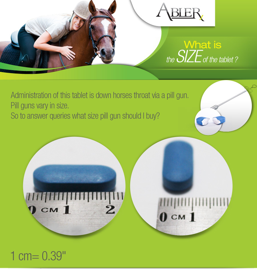 AbPrazole Tablet Size