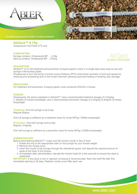 AbGard Product Fact Sheet